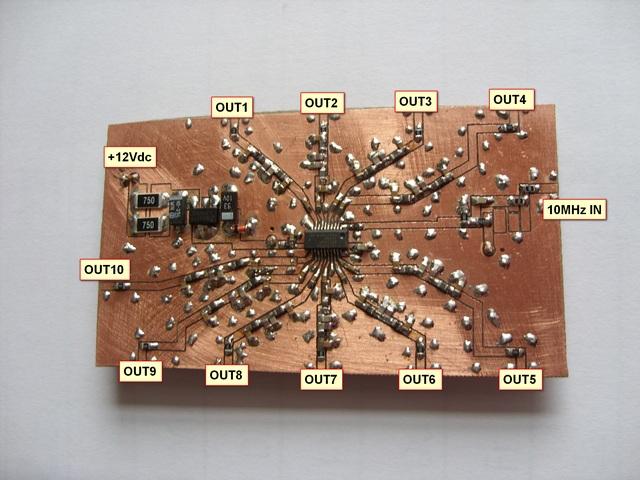 27MHz PLL for LNB , 10MHz Clock Buffer Verteiler , etc
